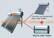 Две внутренние танки солнечного водонагревателя 03